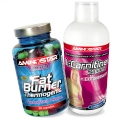 Fat Burner 90 cps + L-Carnitine Chromium ZDARMA