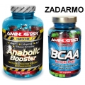 Anabolic Booster + BCAA 120 cps. ZDARMA