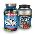 Fat Burner 90 cps + Ultra Diet Shake 500g ZDARMA