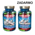Fat Burner 90 cps + Fat Elimination 60 cps. ZDARMA