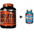 Brutal Muscle On 2270g. + BCAA 120 cps. ZDARMA