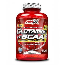 Glutamine + BCAA 360cps.