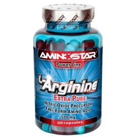 L-Arginin, kapsle 360 cps