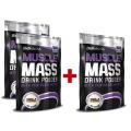 Muscle Mass 1000g. - akcia 2+1 ZADARMO